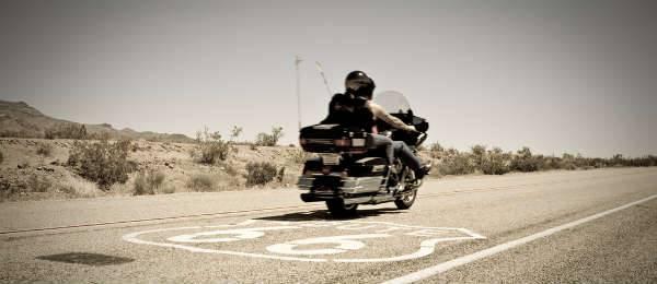 route 66 in moto sulla strada del sogno americano id 75. Black Bedroom Furniture Sets. Home Design Ideas