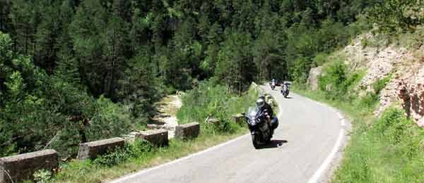 Tour in moto: Dorsale dell'Appennino Ligure e Appennino Tosco-Emiliano