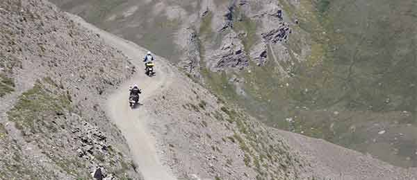 Tour in moto: Le sterrate in moto del colle Finestre, Assietta e Jafferau>