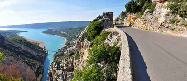 Tour in moto: Vercors, Ardeche, Luberon, Verdon, route de Grands Alpes